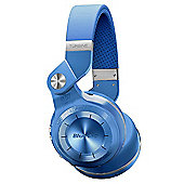 Bluedio T2+ Bluetooth stereo headphones wireless headphones in Blue
