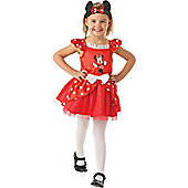 Minnie Mouse Red Ballerina - Small