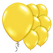 Yellow Citrine Balloons - 9' Valved Jewel Latex Balloon (10pk)