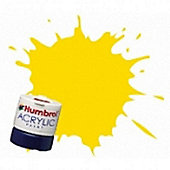 Humbrol Acrylic - 14ml - Gloss - No69 - Yellow