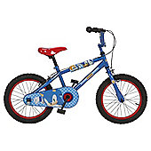 "Silverfox Sonic the Hedgehog 16"" Boys' Bike"