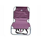 Sunnflair Fn1038 Fold Away Low Chair Grape