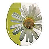 Wenko Daisy White Toilet Seat
