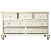Ultimum Chateau Off White 3 Over 4 Chest of Drawers