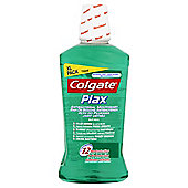 Colgate Plax Soft Mint Green Mouthwash 750Ml