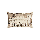 Linea Cricket Team Cushion, Oblong