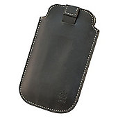 Tortoise™ Genuine Leather Slip Case Universal Large Black