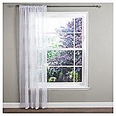Ceder Voile Slot Top Curtain - Linen