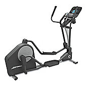 Life Fitness X3 Elliptical Trainer with Track console