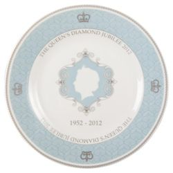 Queens Jubilee Fine China Commemorative Plate