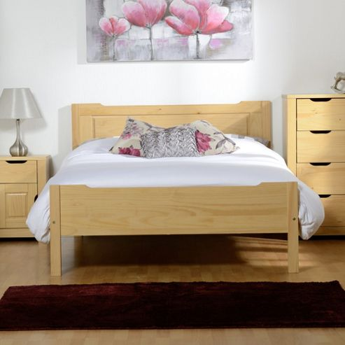 Home Essence Eclipse Double Bed - Oak