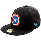 New Era Cap Co Character Badge Captain America Fitted Cap Size: 7 inch