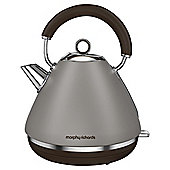 Morphy Richards Accents Pyramid Kettle Pebble