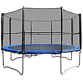 Woodworm 10Ft Trampoline With Safety Net Enclosure - Ladder - All Weather Cover