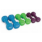 York Fitness Y Fitbell Set 10kg in a Case