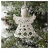 Tesco Crochet Angel Hanging Decoration