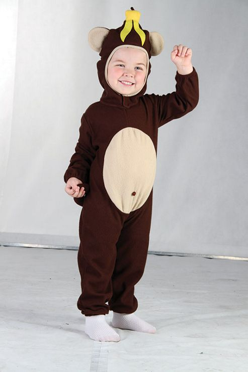 Bristol Novelty CC013 Monkey Toddler Costume