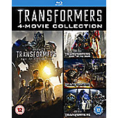 Transformers 1-4 Blu-Ray (Slim version) 4 disc