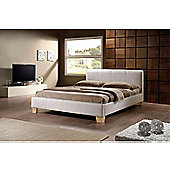 "Birlea Brooklyn Bed Frame - Double (4' 6"") - White"