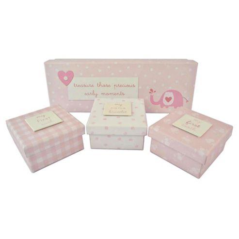 New Baby Girl Memory Box Set