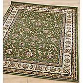 Origin Red Classique Green Rug - 160cm x 120cm (5 ft 3 in x 3 ft 11 in)
