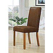 Hawkshead Madrid Leather Dining Chair