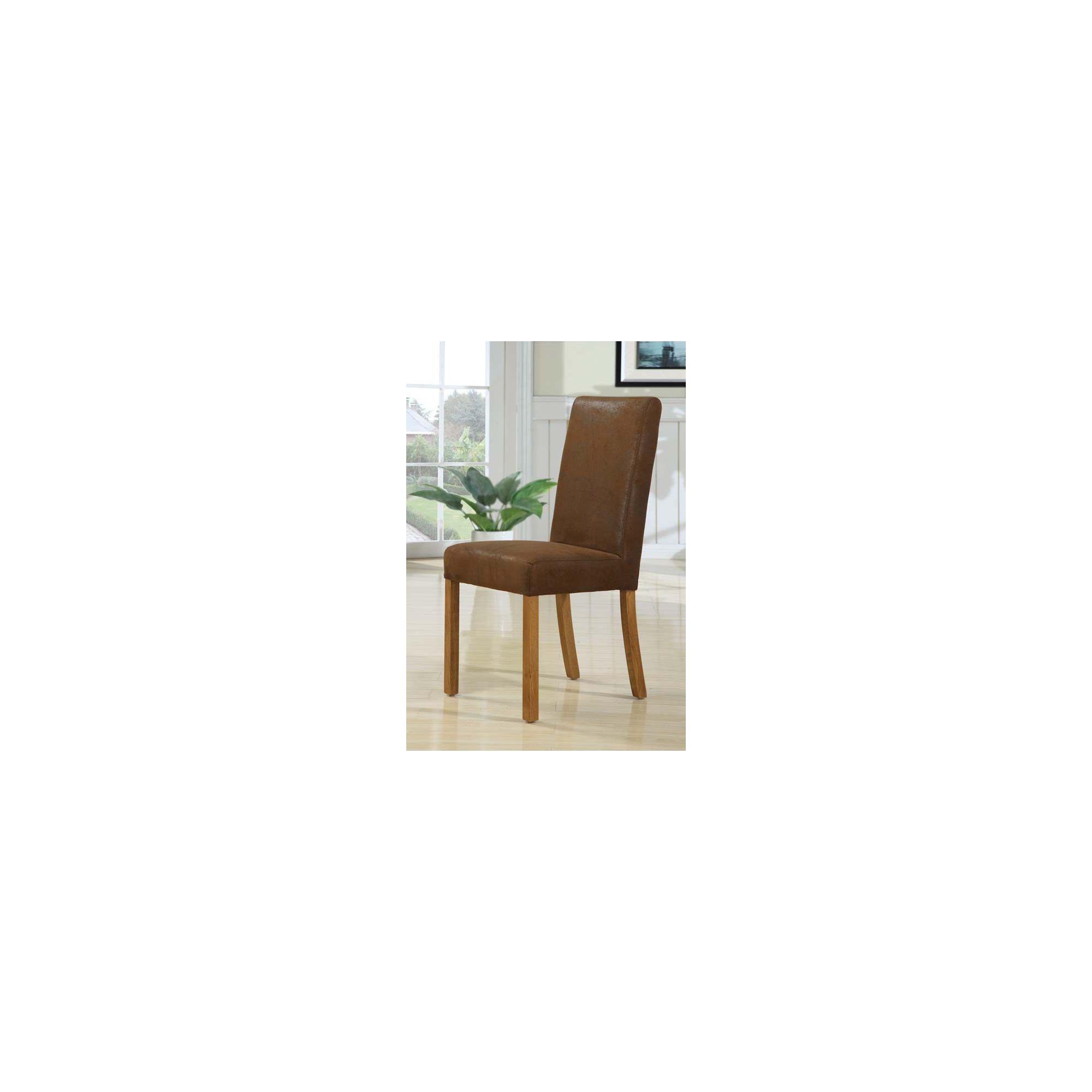 Hawkshead Madrid Leather Dining Chair