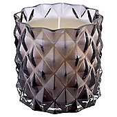 Tesco Faceted Filled Candle, Smoke