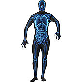 X Ray Second Skin - Adult Costume Size: 38-40