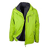 Bracken Extreme 3 in 1 Mens Waterproof Jacket - Yellow