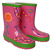 Children's Paint Your Own Wellies - Pink (Small)