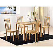 G&P Furniture Torino 5 Piece Dining Set