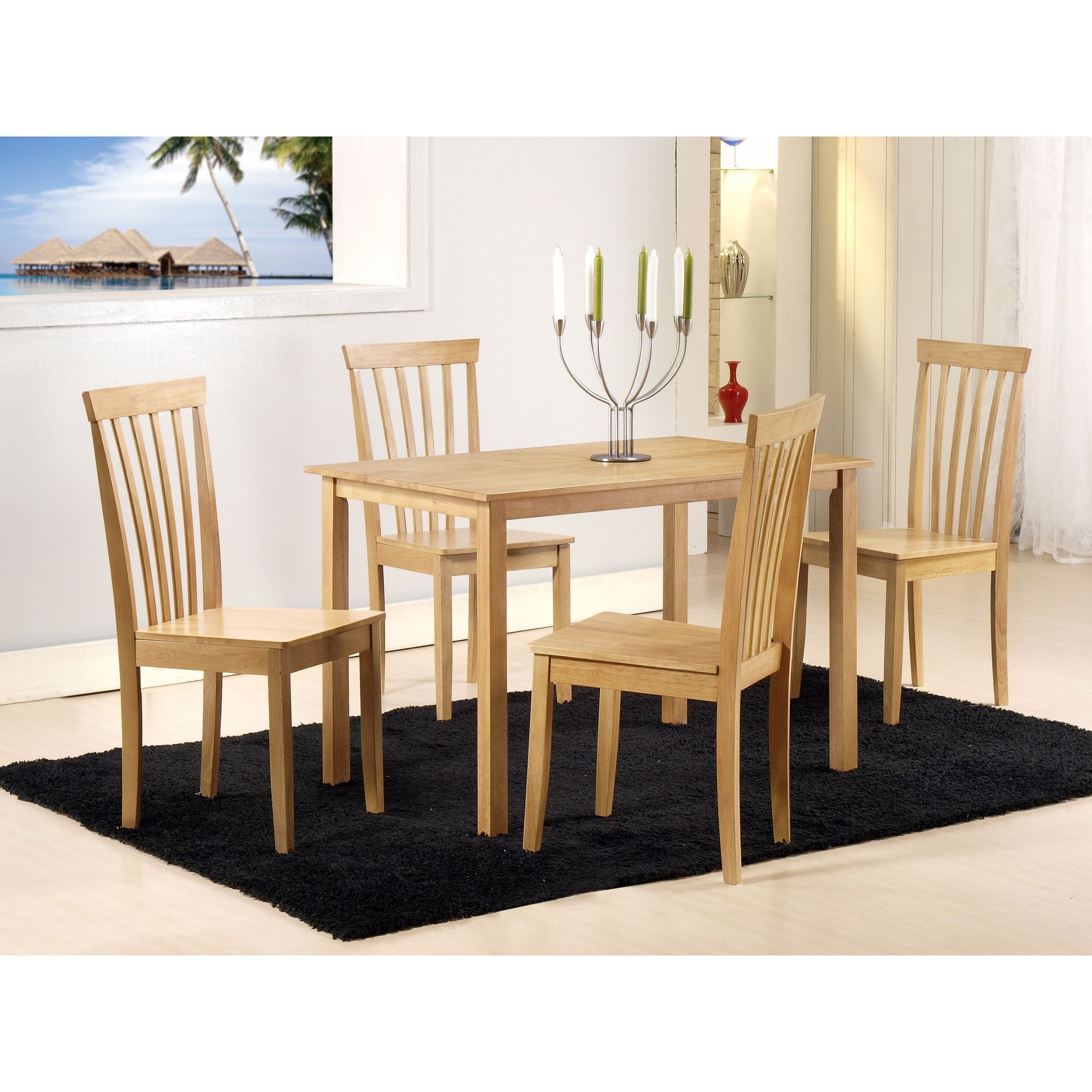 G&P Furniture Torino 5 Piece Dining Set at Tesco Direct