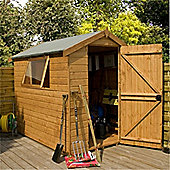7ft x 5ft Easy Fit Roof Premier Tongue & Groove Apex Shed Single Door