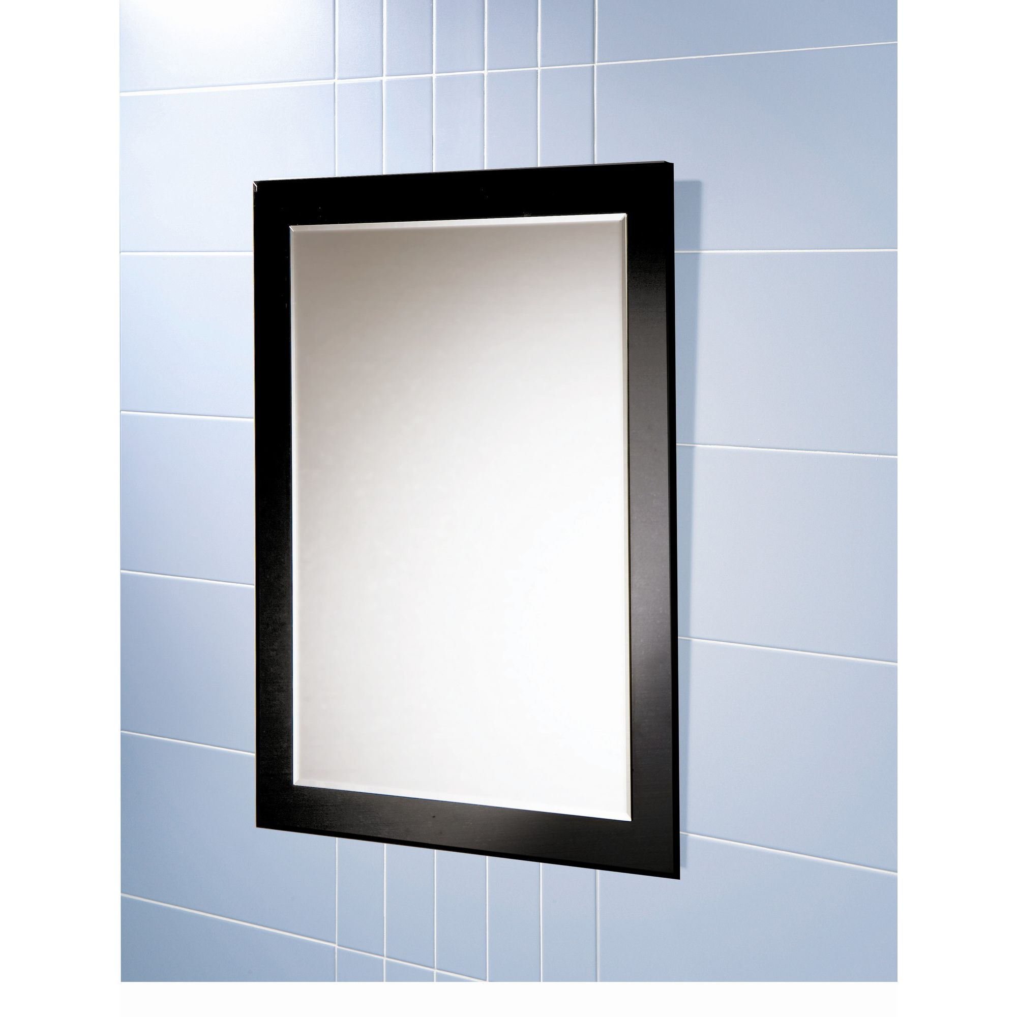 Mirror Rectangular Curved Frame Oscar Wall By