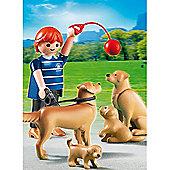 Playmobil City Life Golden Retriever Dogs