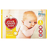 Tesco Loves Baby Ultra Soft New Born 25 Pack