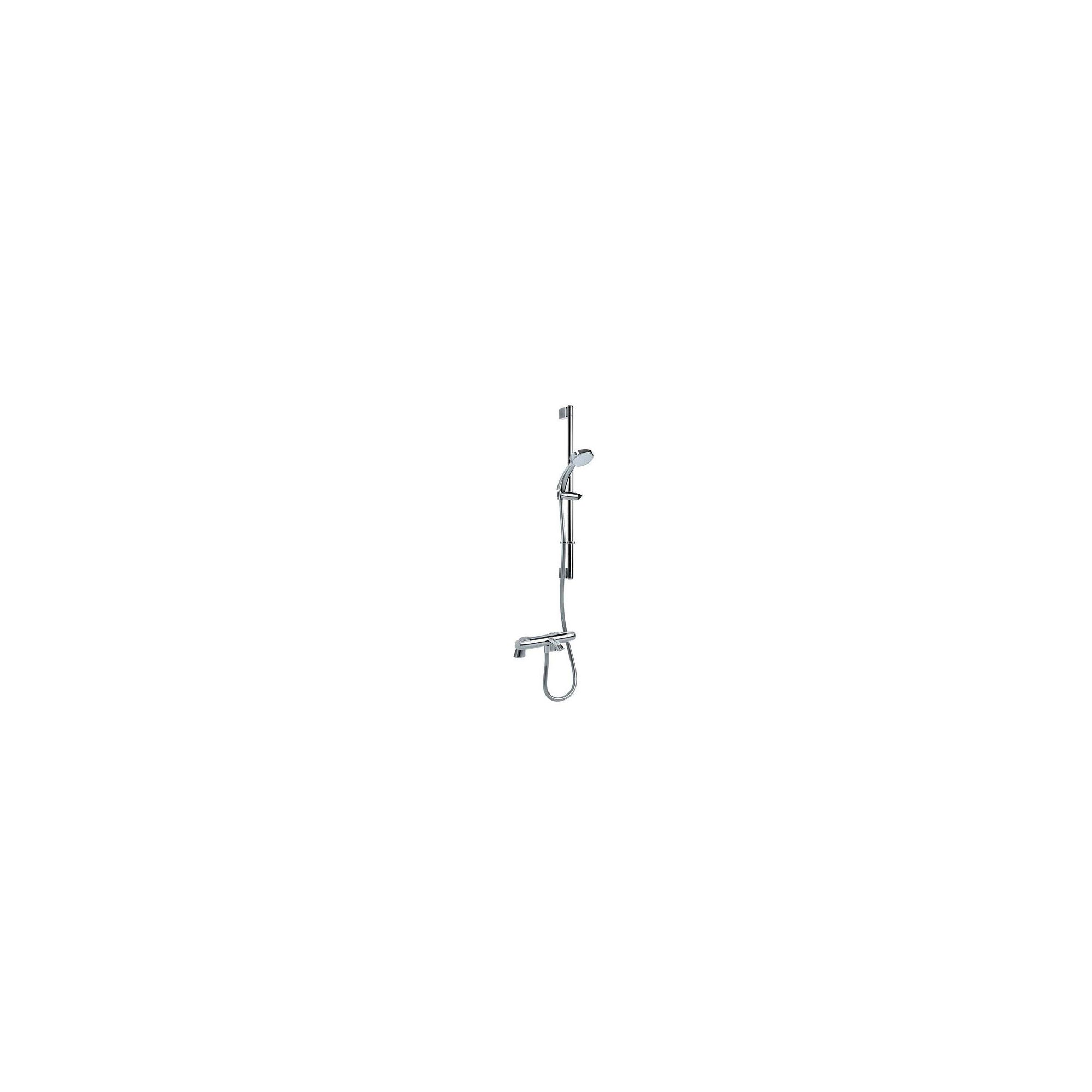 Inta Sulis Thermostatic Bath Shower Mixer Tap with Shower Kit and Legs Chrome at Tesco Direct