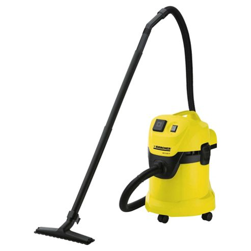Karcher WD3500P Wet & Dry Bagless With Power Tool Attachment Vacuum Cleaner