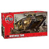 WWI Male Tank (A01315) 1:76