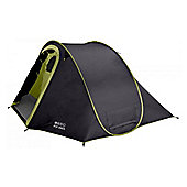 Vango 2 Man Pop 200 DS Outdoor Dome Tent Black
