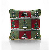 Christmas Tree Tapestry Cushion - 46x46cm
