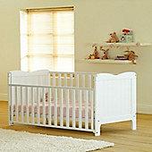 Saplings Stephanie Cot Bed (White)
