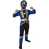 Blue Super Megaforce Power Ranger - Child Costume 6-7 years
