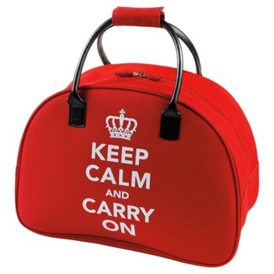 Constellation Keep Calm and Carry On Holdall, Red