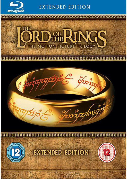 The Lord Of The Rings Trilogy - Extended Edition (Blu-Ray Boxset)