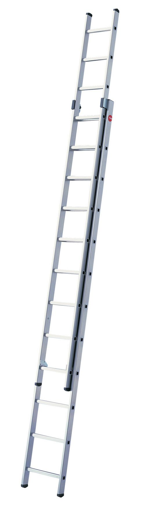 Hailo 681cm ProfiStep Duo 2-Section Aluminium Extension Ladder