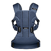 BabyBjorn Baby Carrier One Air (Great Blue Whale Mesh)