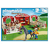 Playmobil Pony Stable