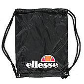 Ellesse Pensford Gymsack Shoulder Bag Black